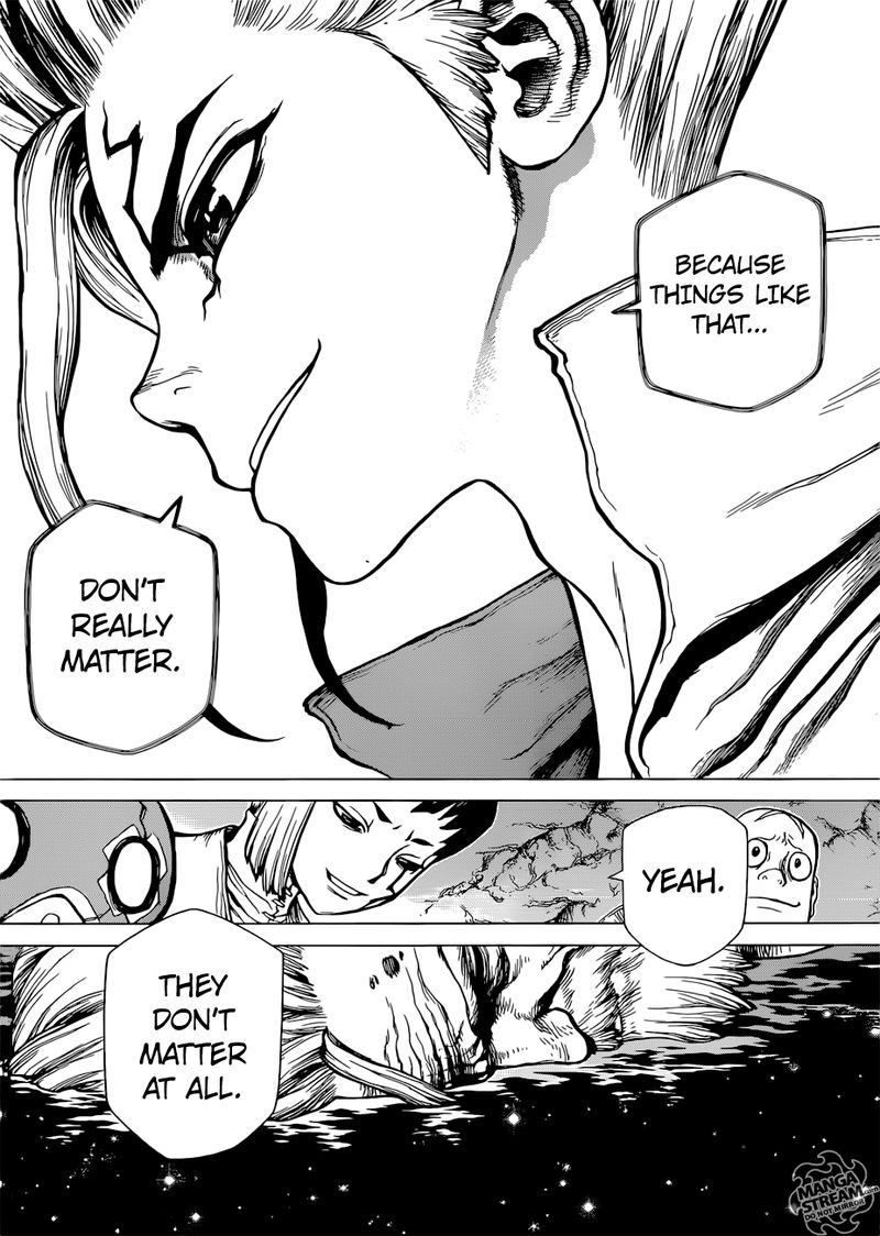 Dr. Stone : Chapter 115 - One second and one grain image 018