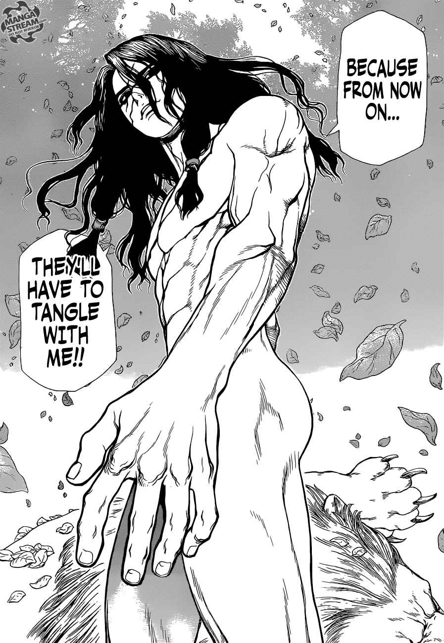 Dr. Stone : Chapter 3 - King of the Stone World image 019
