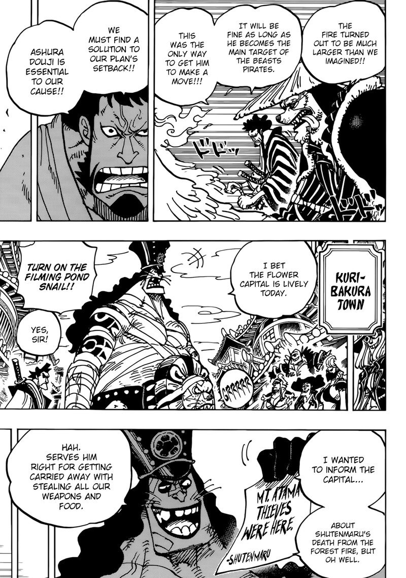 One Piece, Chapter 941 image 009