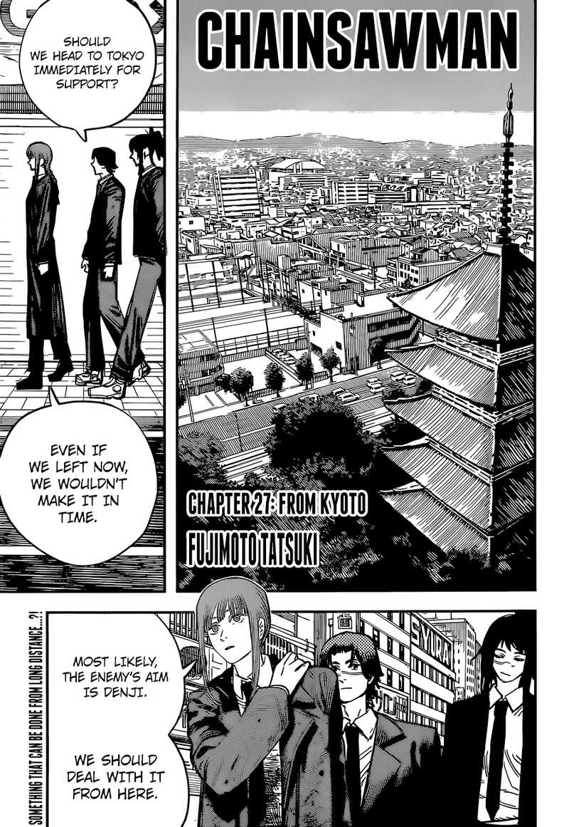 Chainsaw Man, Chapter 27 - From Kyoto image 001