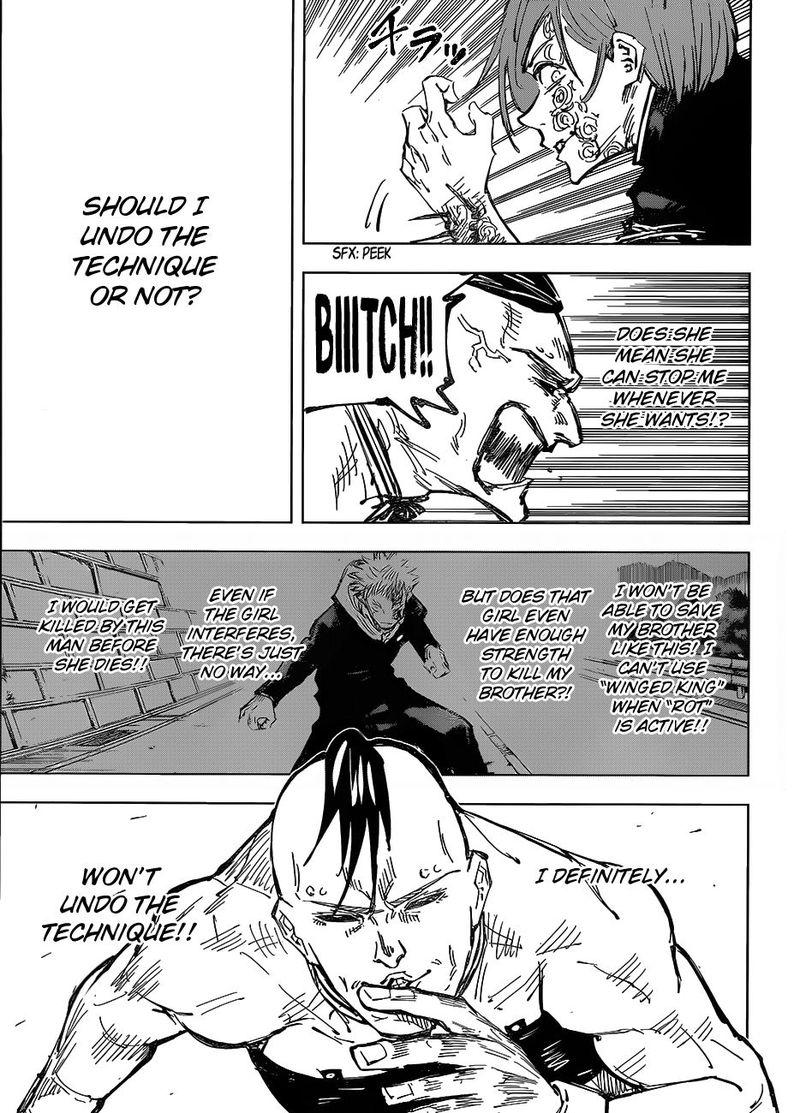 Jujutsu Kaisen, Chapter 61 image 008