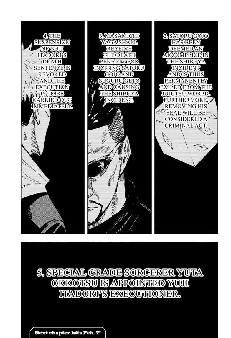 Jujutsu Kaisen, Chapter 137 image 020