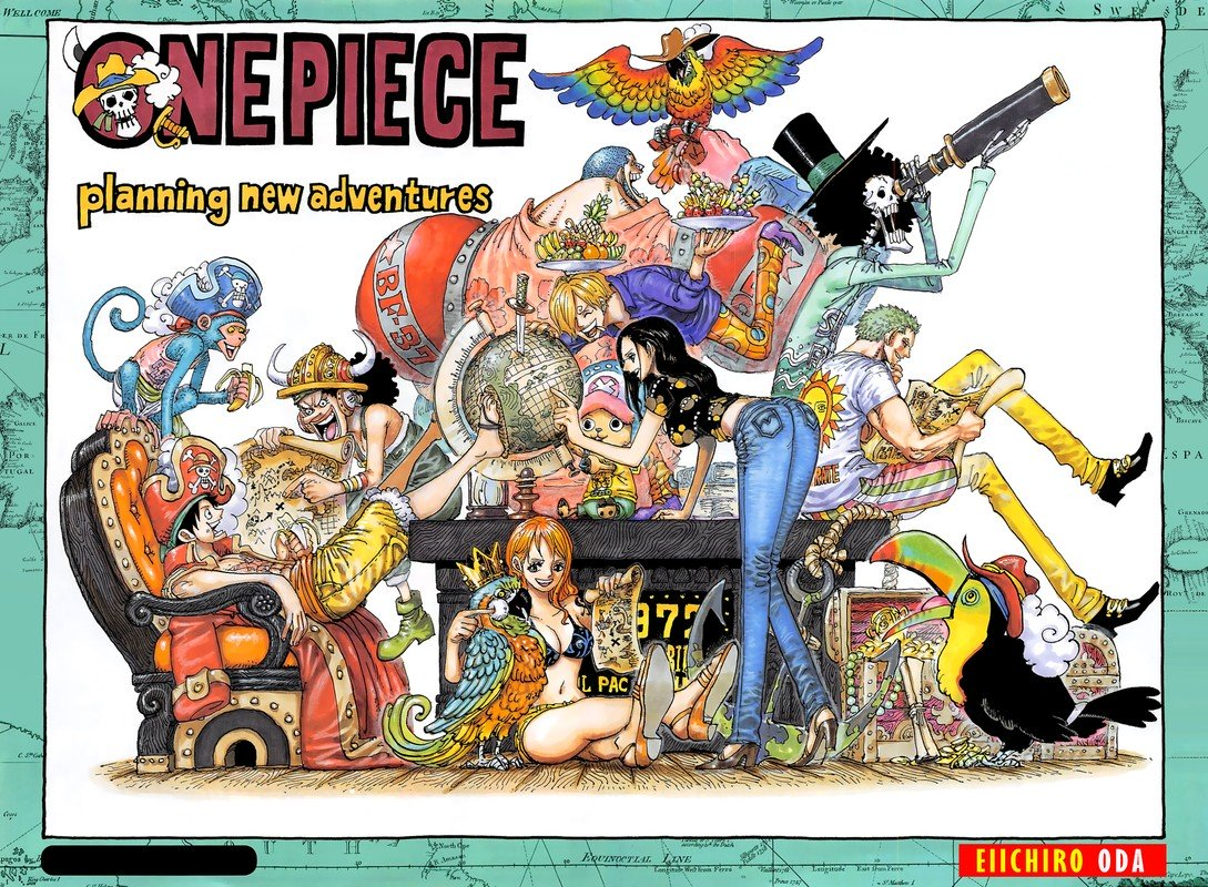 One Piece, Chapter 937 image 002