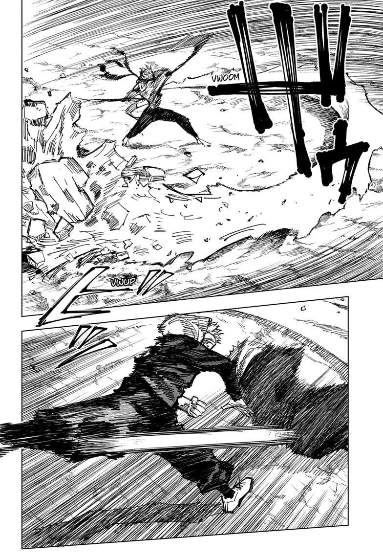 Jujutsu Kaisen, Chapter 131 image 005