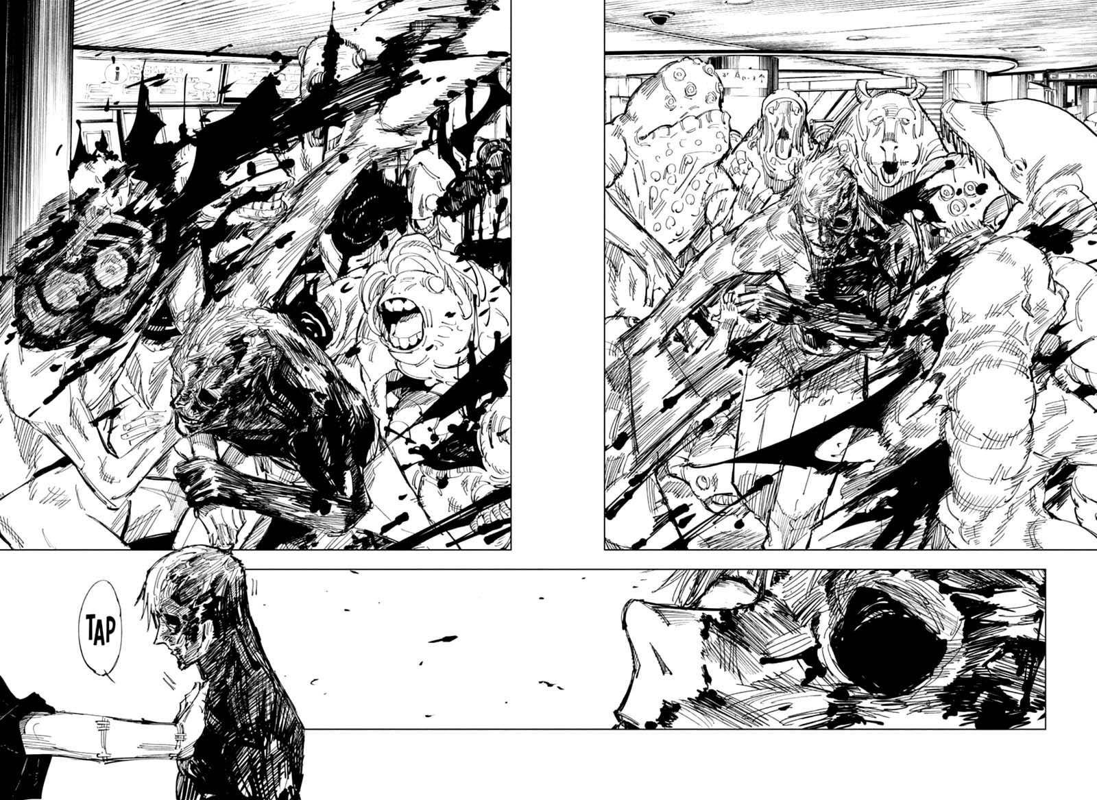 Jujutsu Kaisen, Chapter 120 image 012