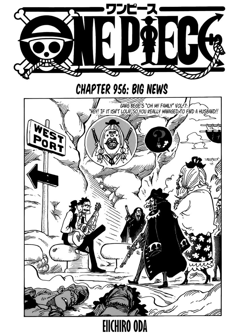 One Piece, Chapter 956 image 002