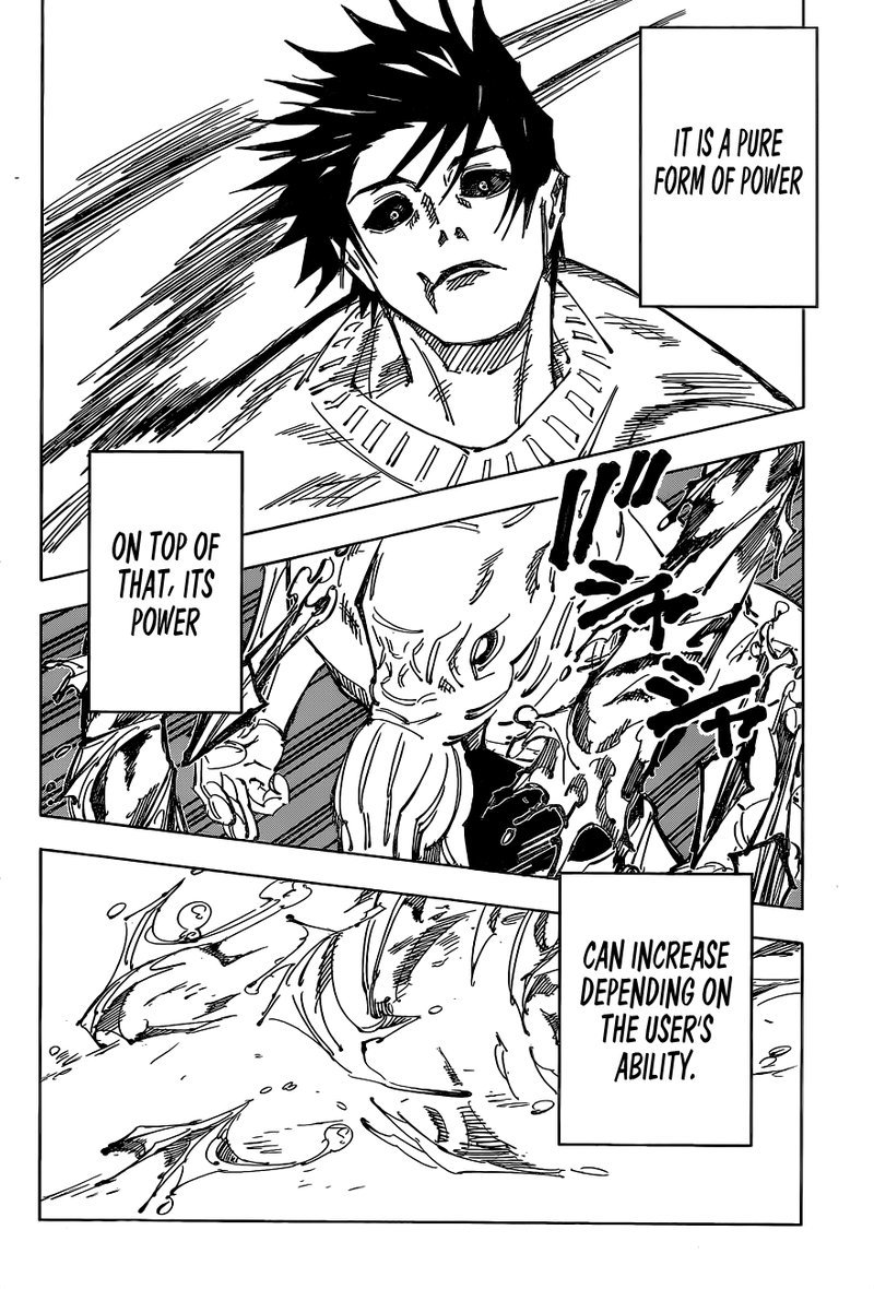 Jujutsu Kaisen, Chapter 110 image 013