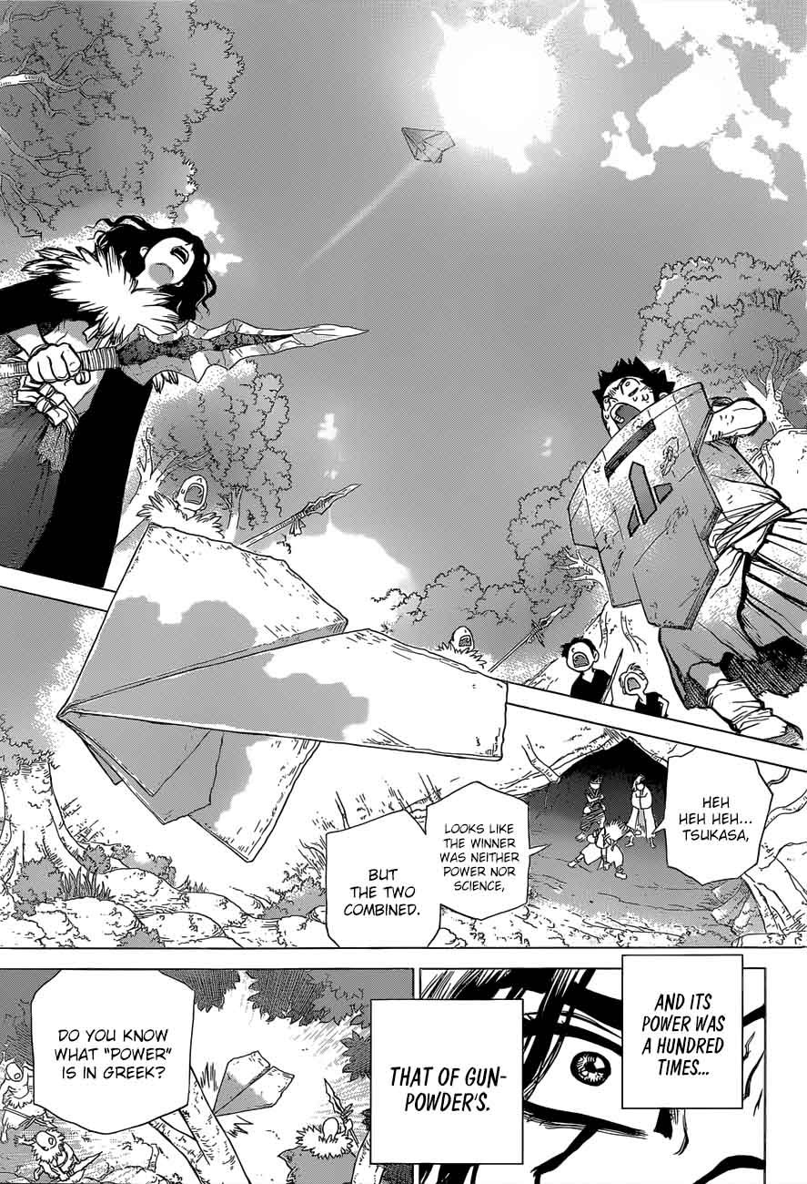 Dr. Stone : Chapter 77 - The Power of Science image 019