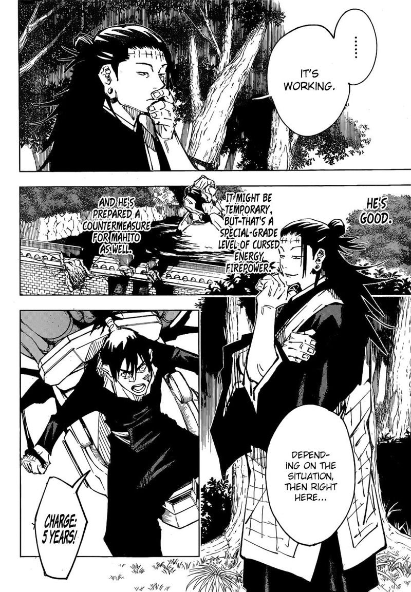 Jujutsu Kaisen, Chapter 81 image 009