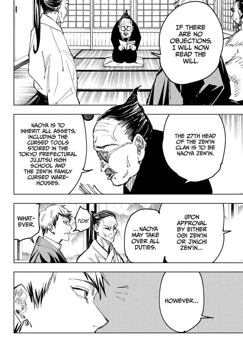 Jujutsu Kaisen, Chapter 138 image 008