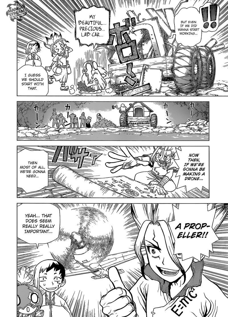 Dr. Stone : Chapter 119 - Science Soldiers image 008