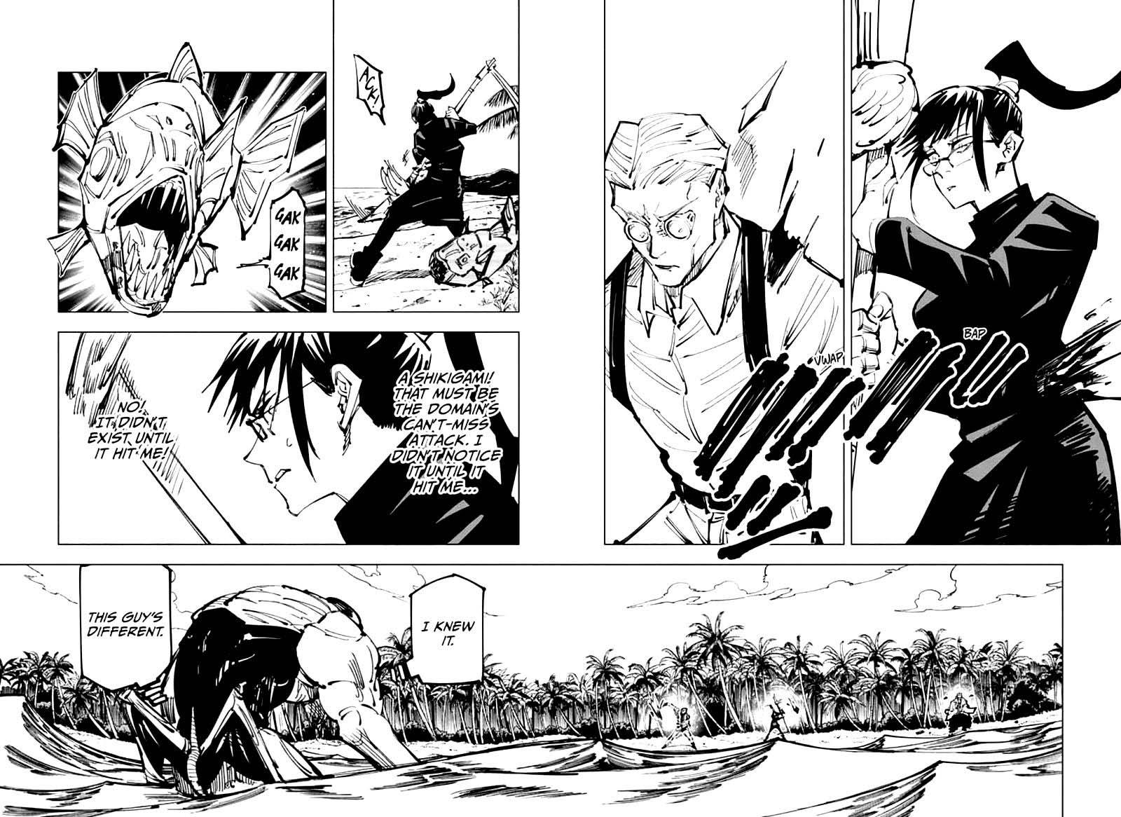 Jujutsu Kaisen, Chapter 108 image 002