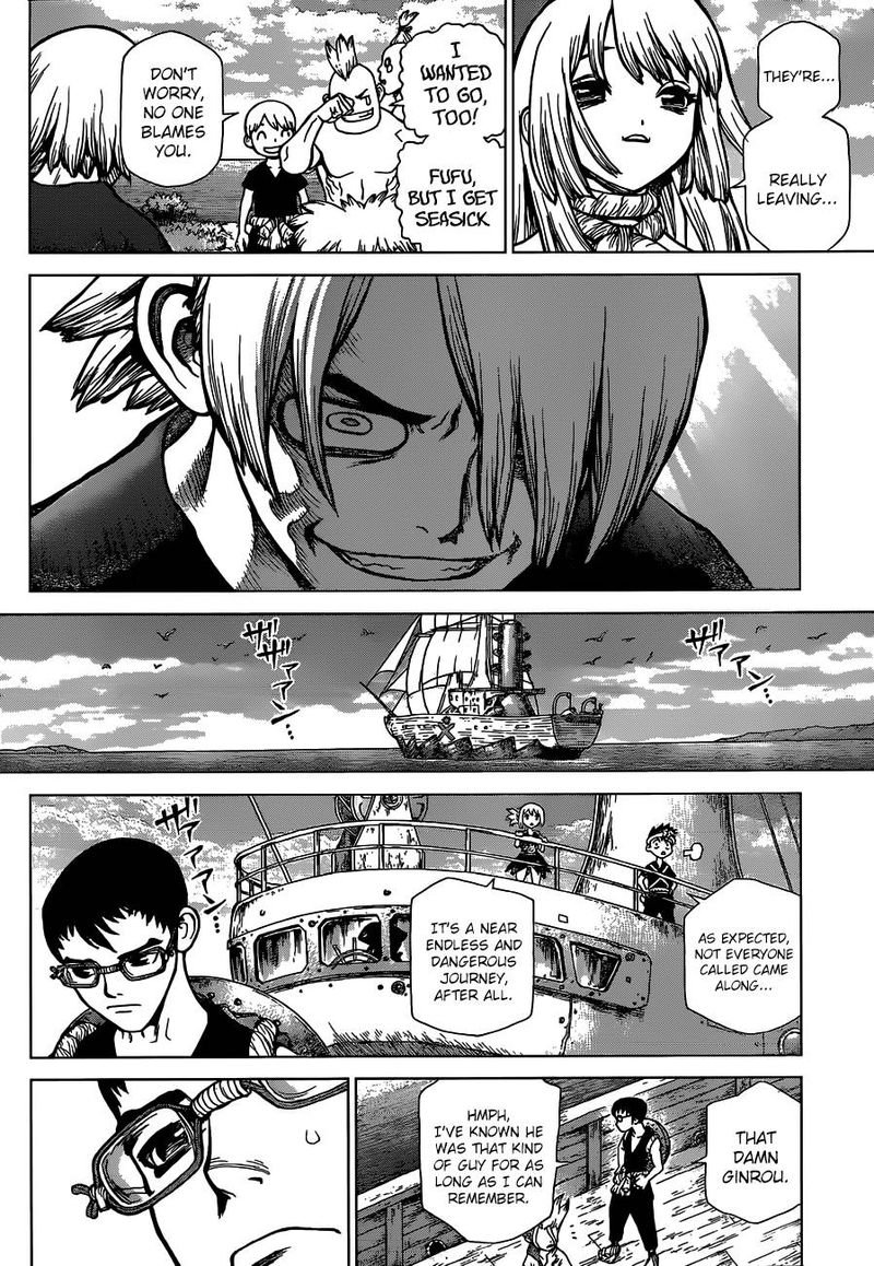 Dr. Stone : Chapter 100 - The Hundred Stories Beginning image 014