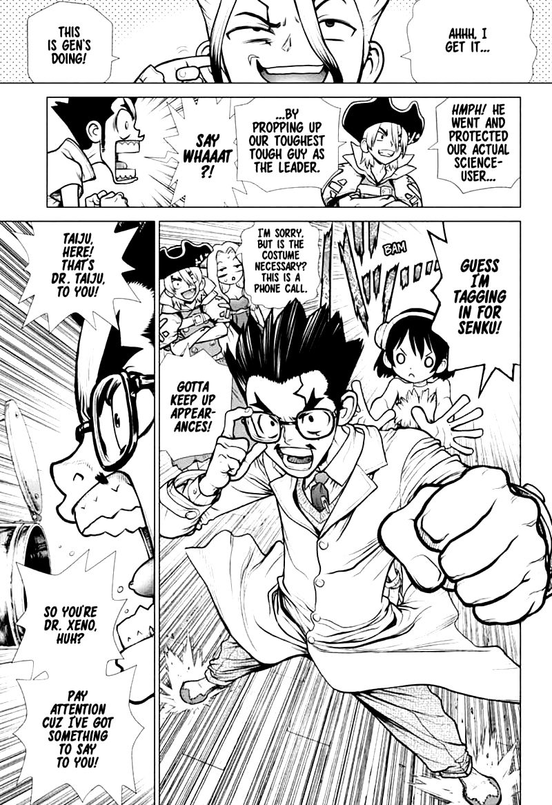Dr. Stone : Chapter 152 - Doctor Vs. Doctor image 009