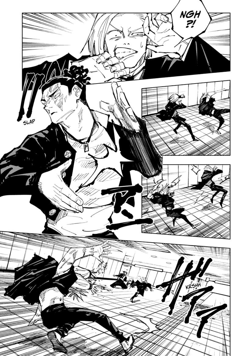 Jujutsu Kaisen, Chapter 127 image 007