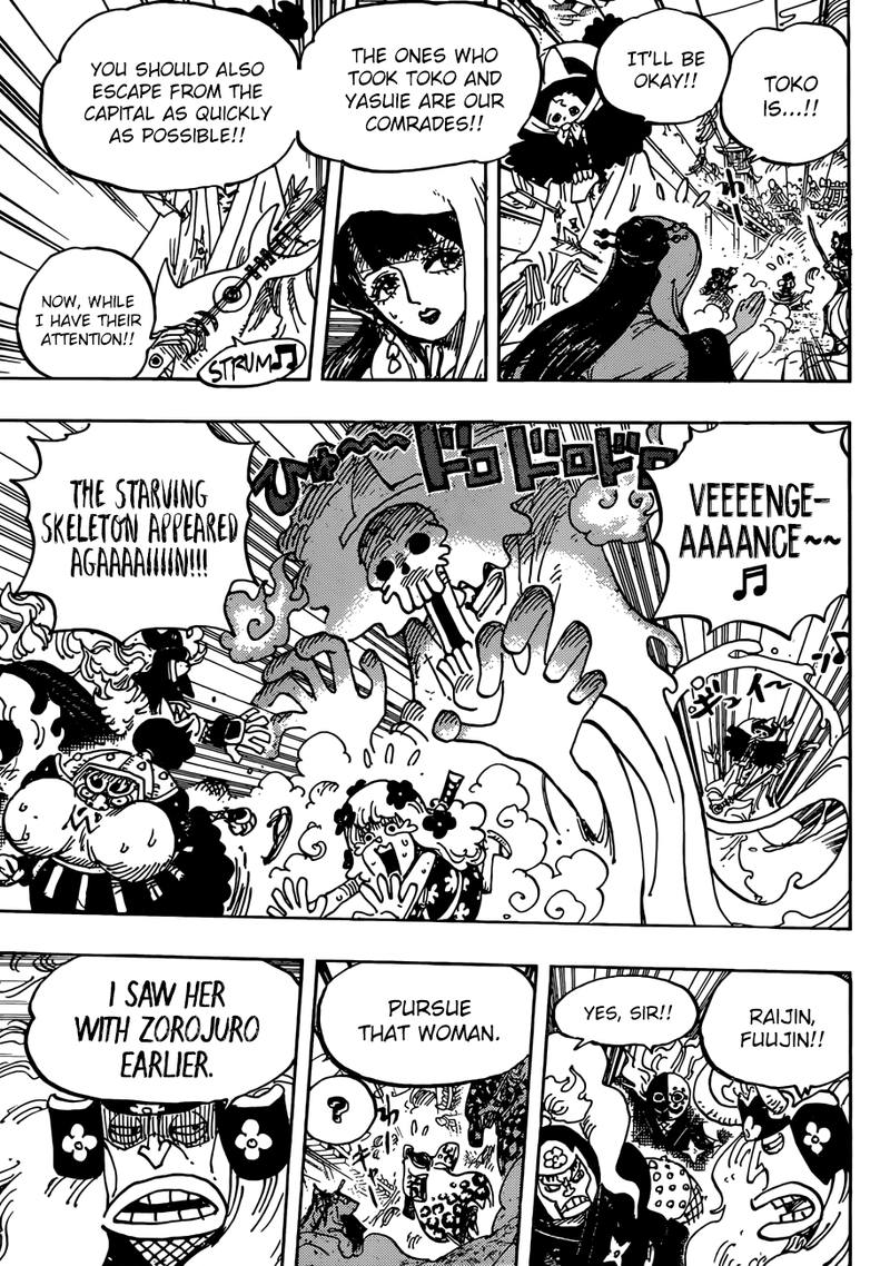 One Piece, Chapter 945 image 007