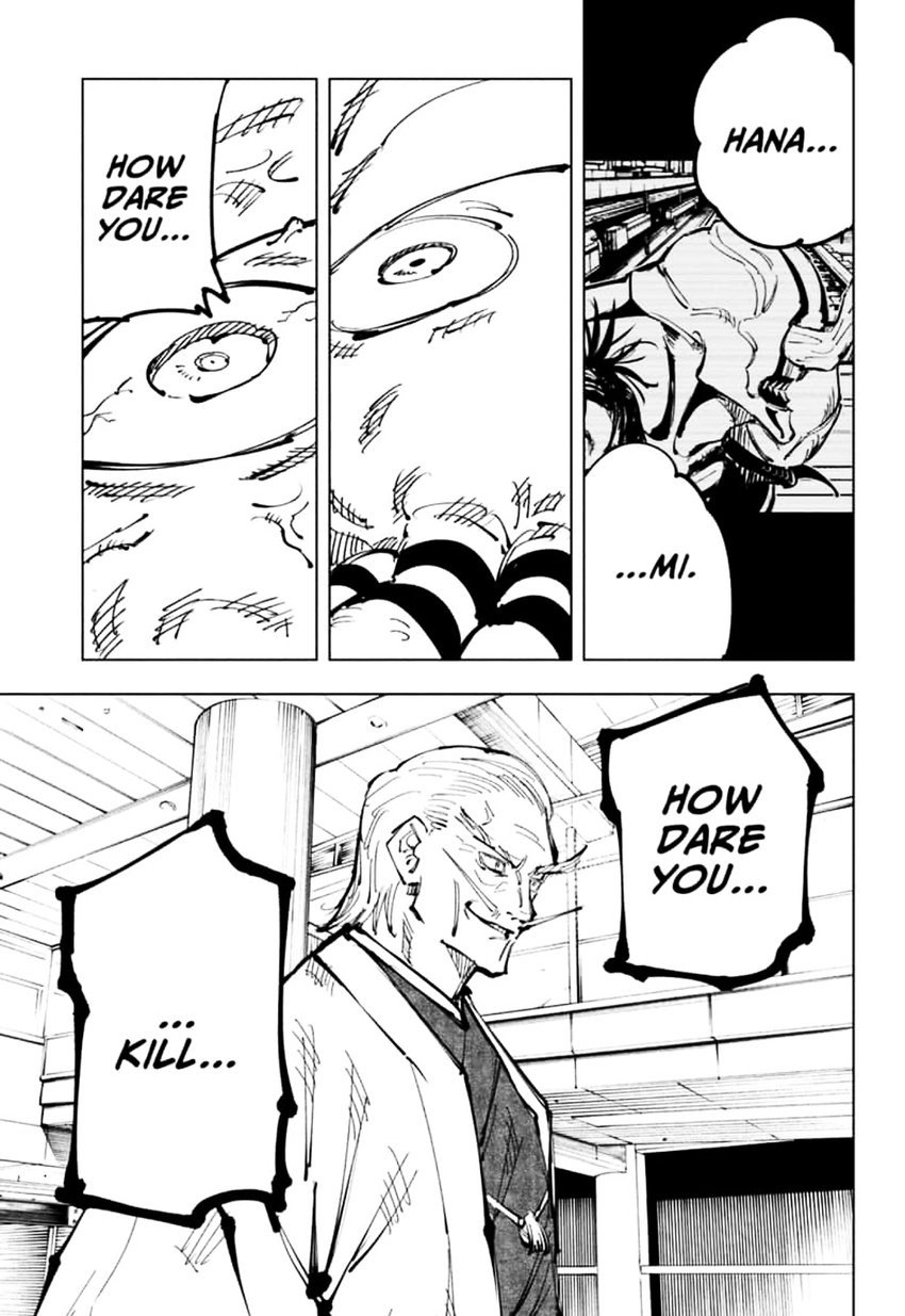 Jujutsu Kaisen, Chapter 106 image 017
