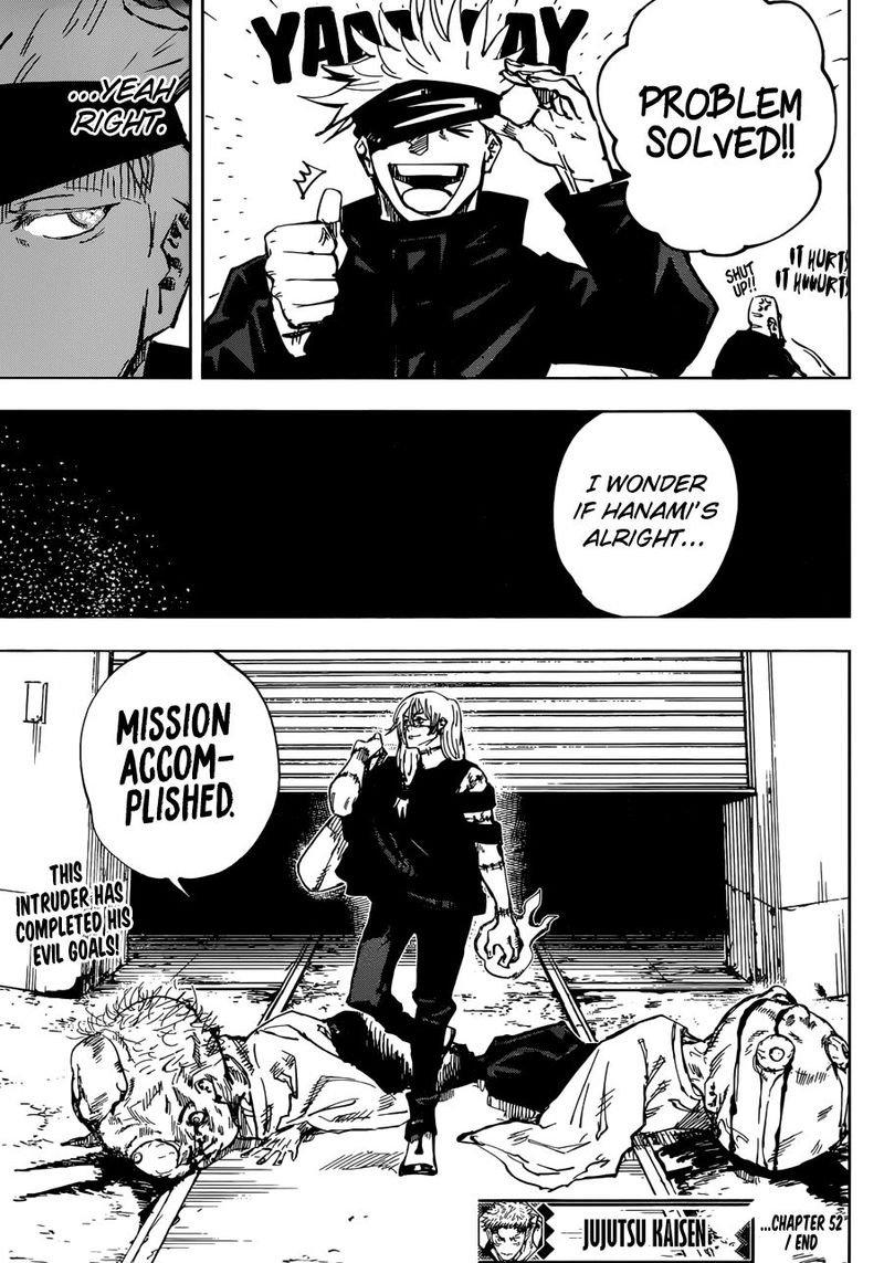 Jujutsu Kaisen, Chapter 52 image 017