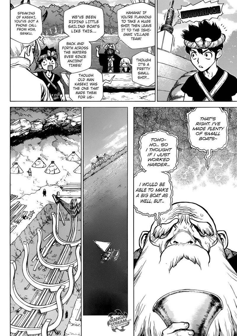 Dr. Stone : Chapter 98 - Ryusui image 008
