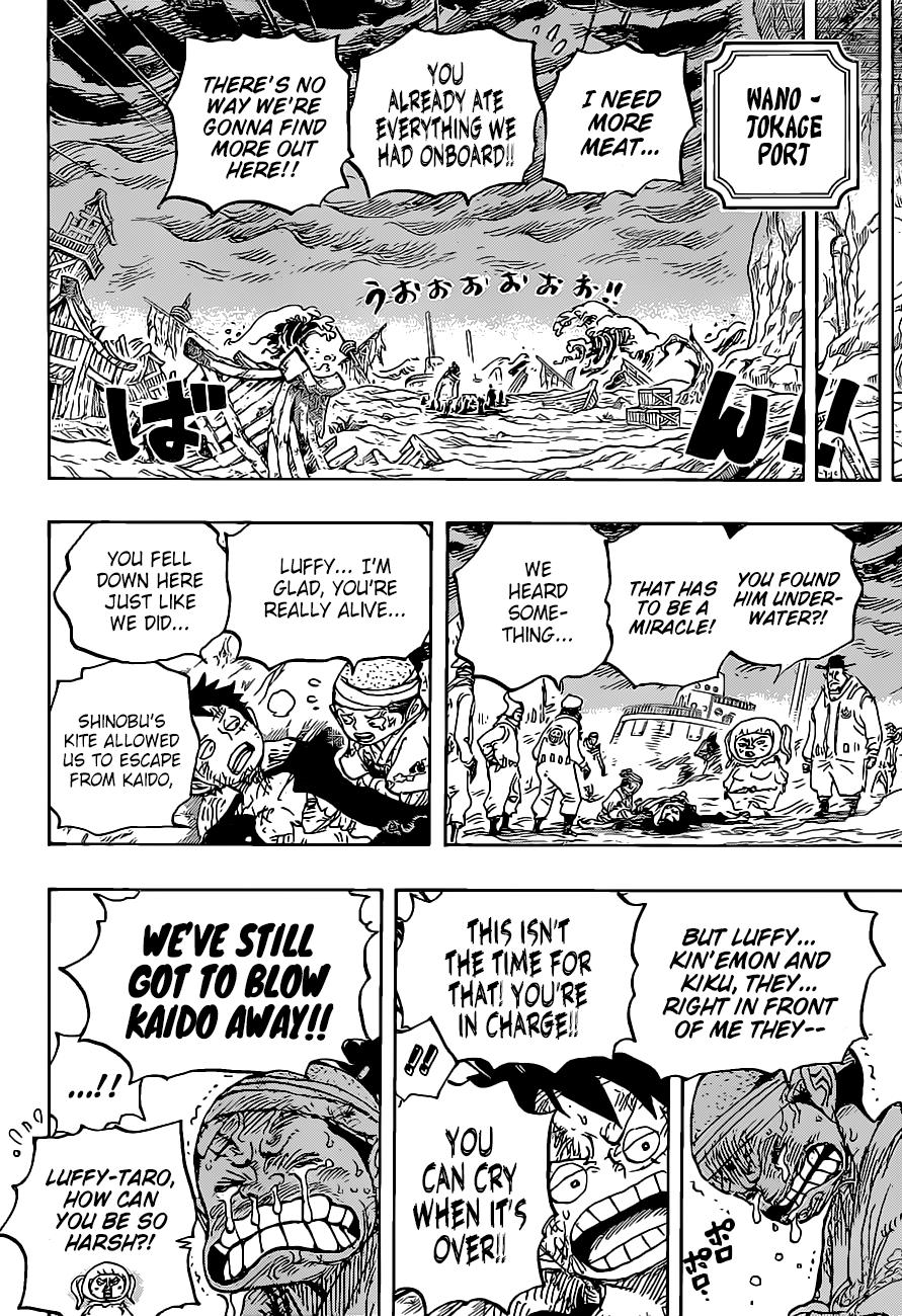 One Piece, Chapter 1020 image 017