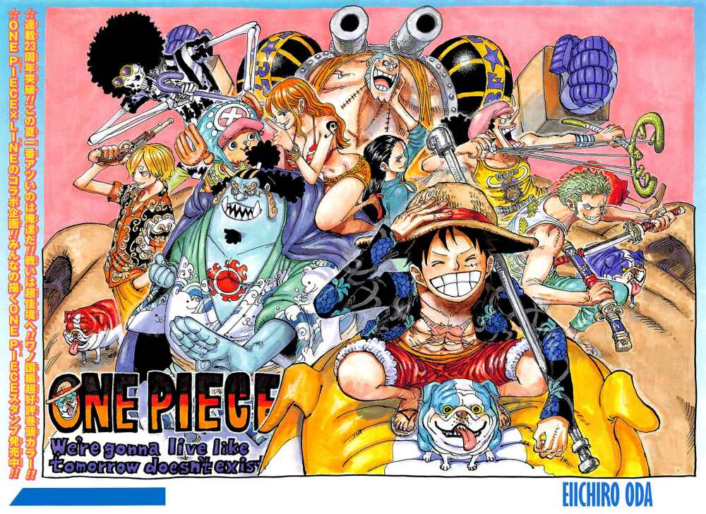 One Piece, Chapter 987 image 002