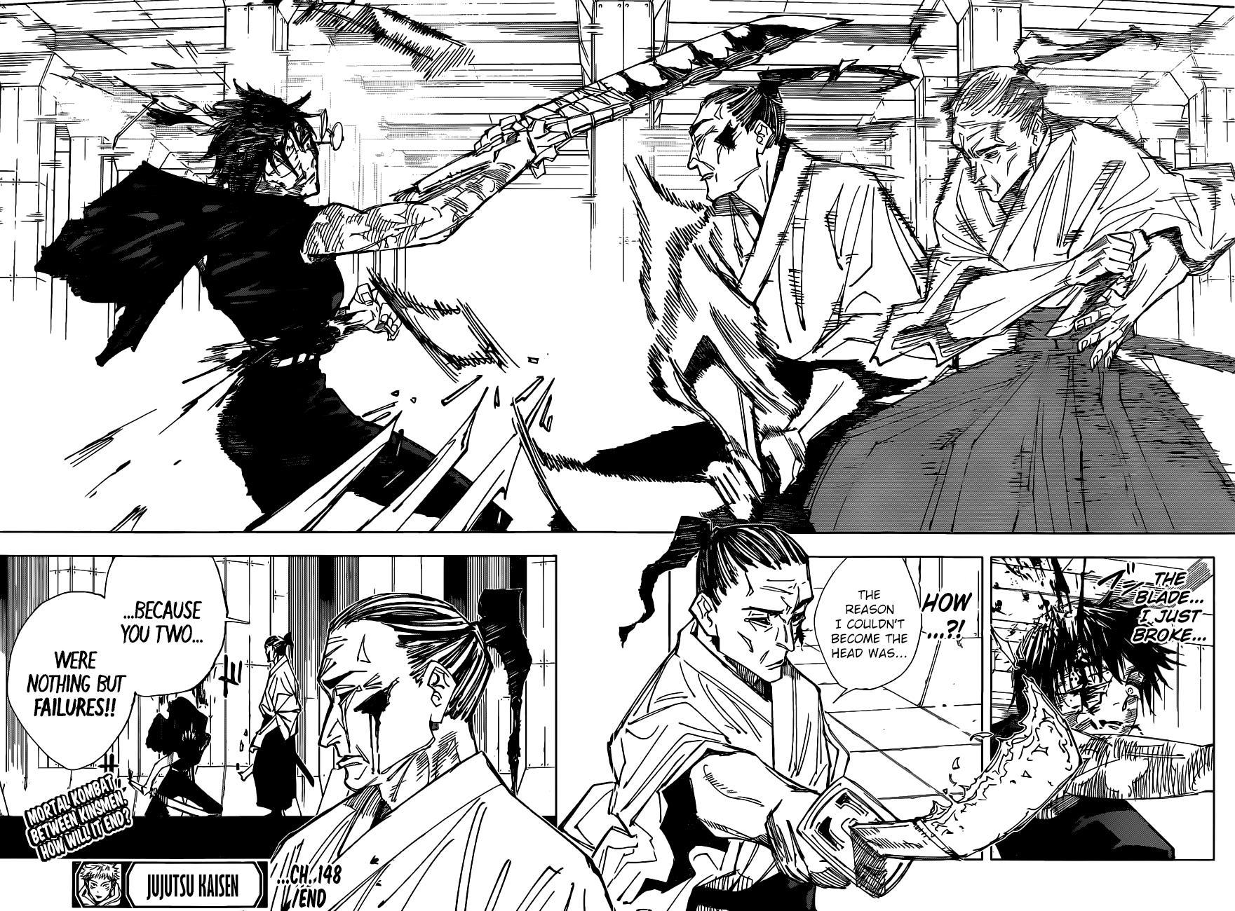 Jujutsu Kaisen, Chapter 148 image 018