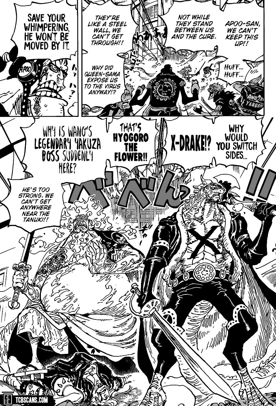 One Piece, Chapter 1006 image 010