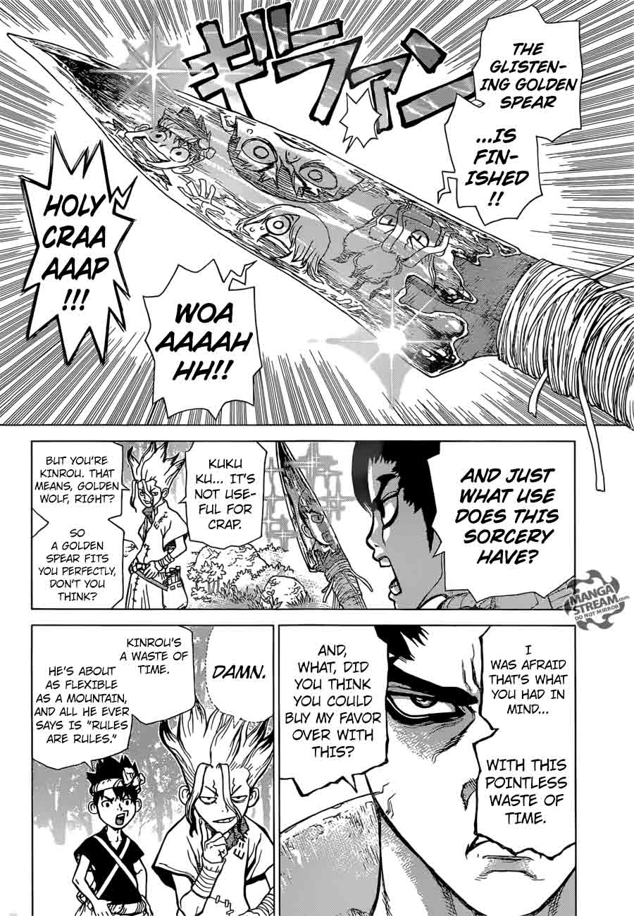 Dr. Stone : Chapter 19 - 2,000,000 Year Hiding Place image 005