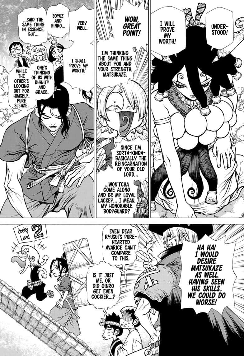 Dr. Stone : Chapter 140 - New World Pilots image 011