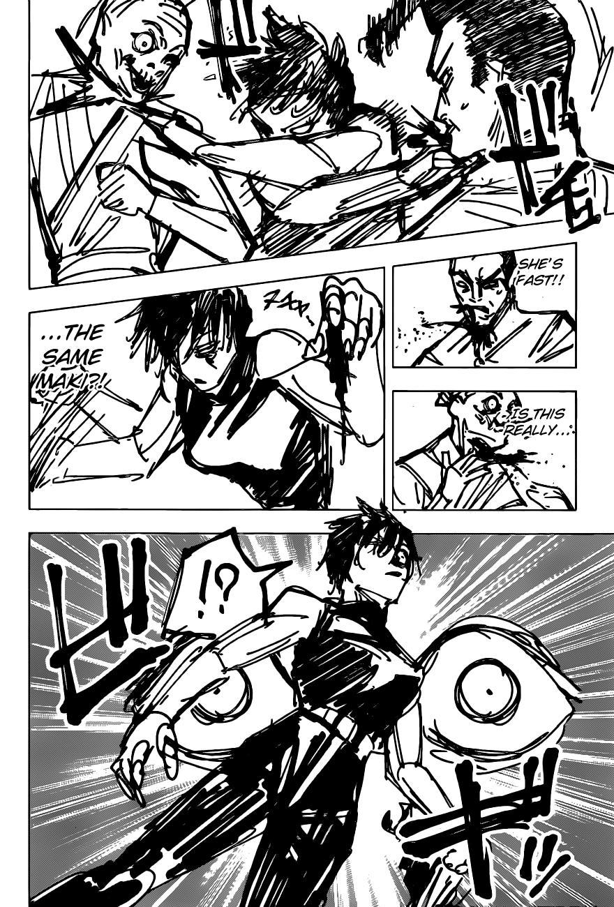 Jujutsu Kaisen, Chapter 150 image 017