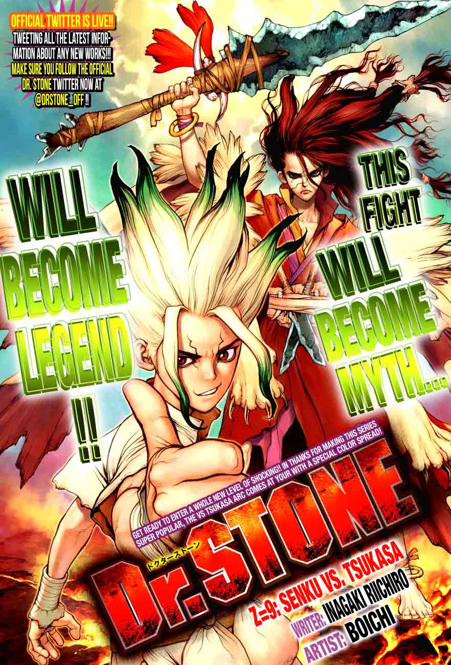 Dr. Stone : Chapter 9 - Senku vs Tsukasa image 001