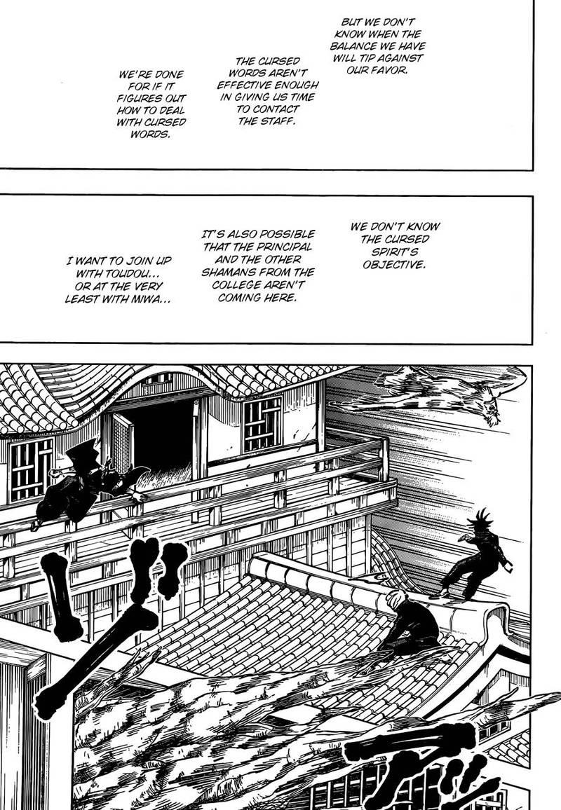Jujutsu Kaisen, Chapter 46 image 009