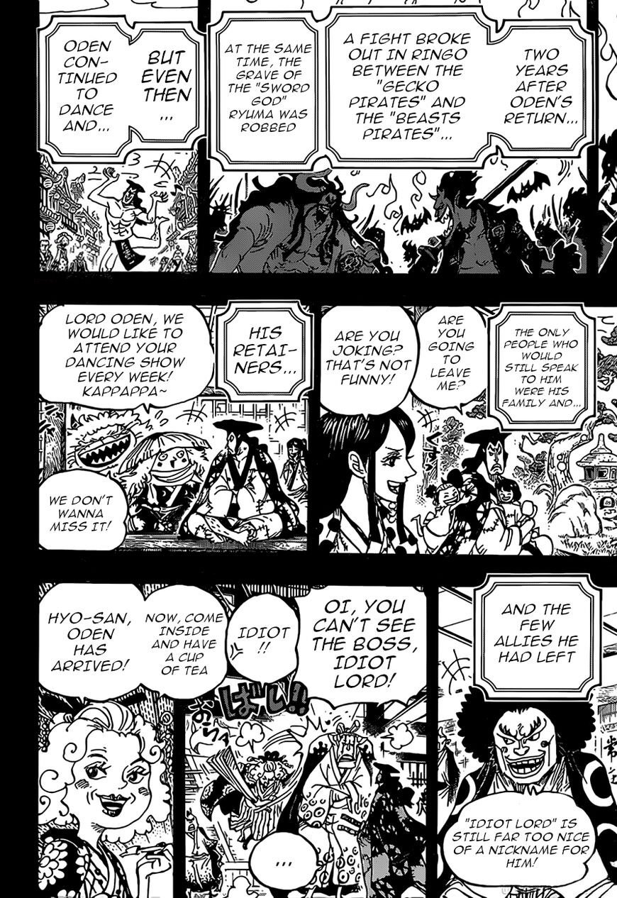 One Piece, Chapter 969 image 010