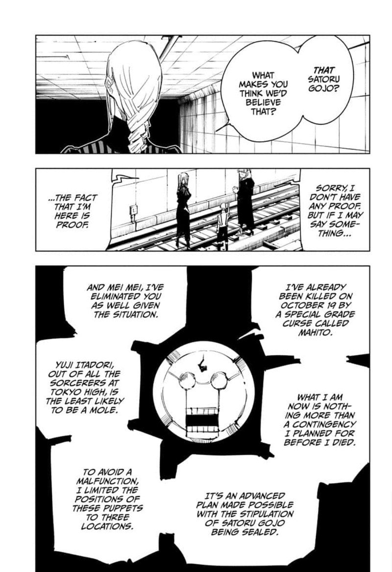 Jujutsu Kaisen, Chapter 91 image 007