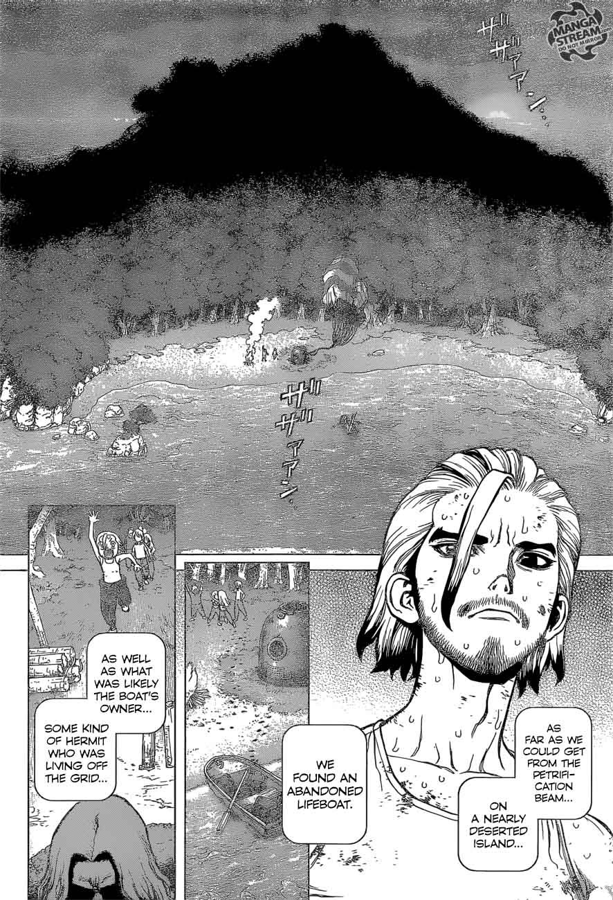 Dr. Stone : Chapter 44 - 100 Nights and 1,000 Skies image 012