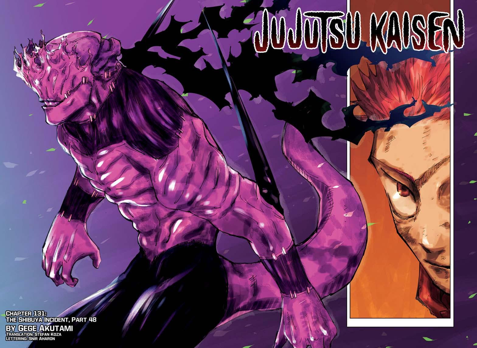 Jujutsu Kaisen, Chapter 131 image 001
