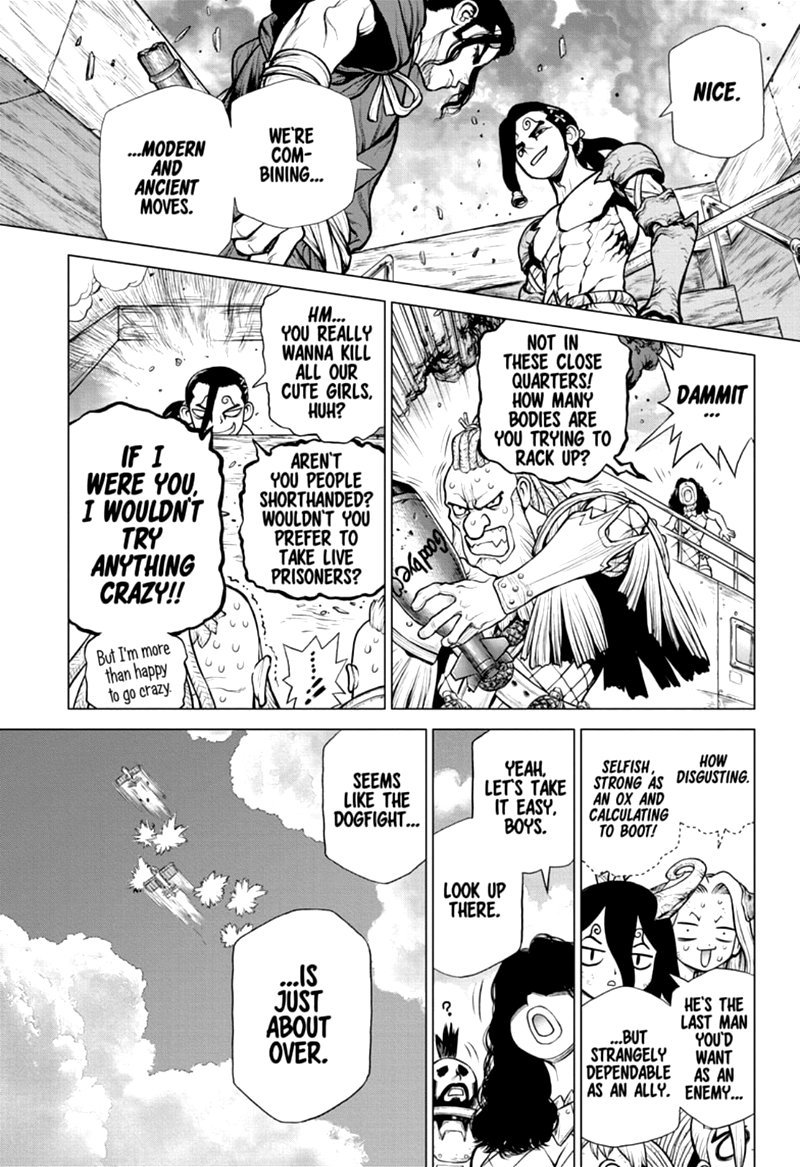 Dr. Stone : Chapter 166 - Ultimate Knight image 007