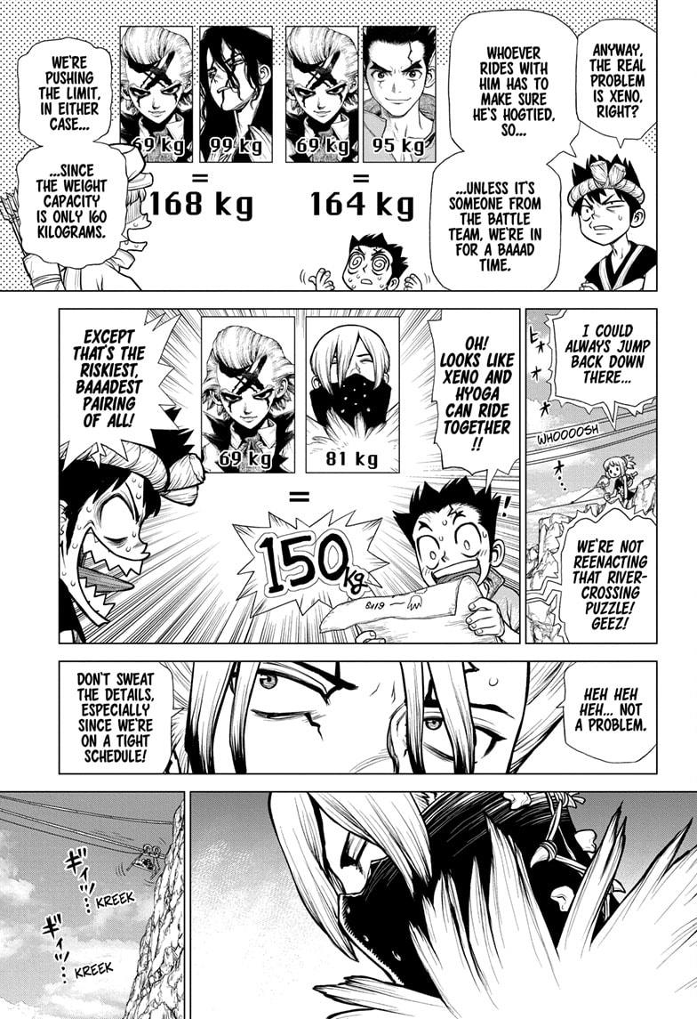 Dr Stone, chapter 179 image 009
