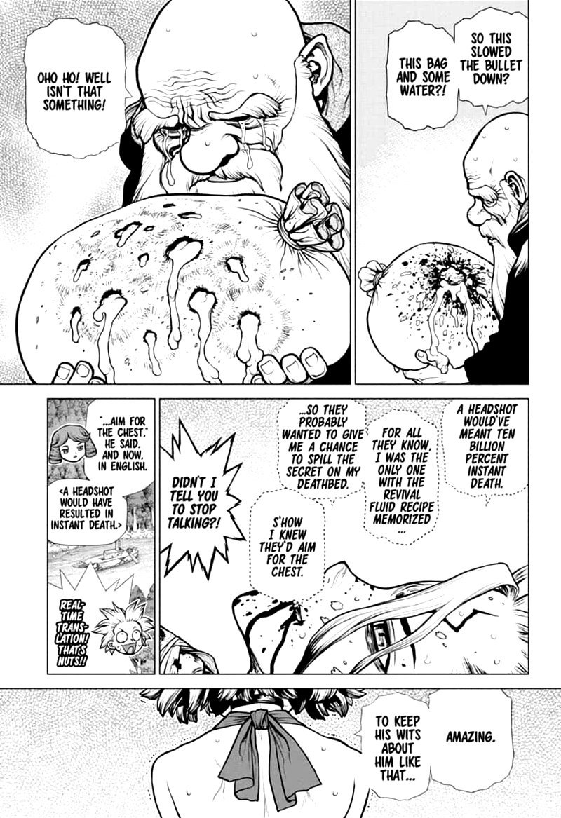 Dr. Stone : Chapter 160 - Torch of Science image 007