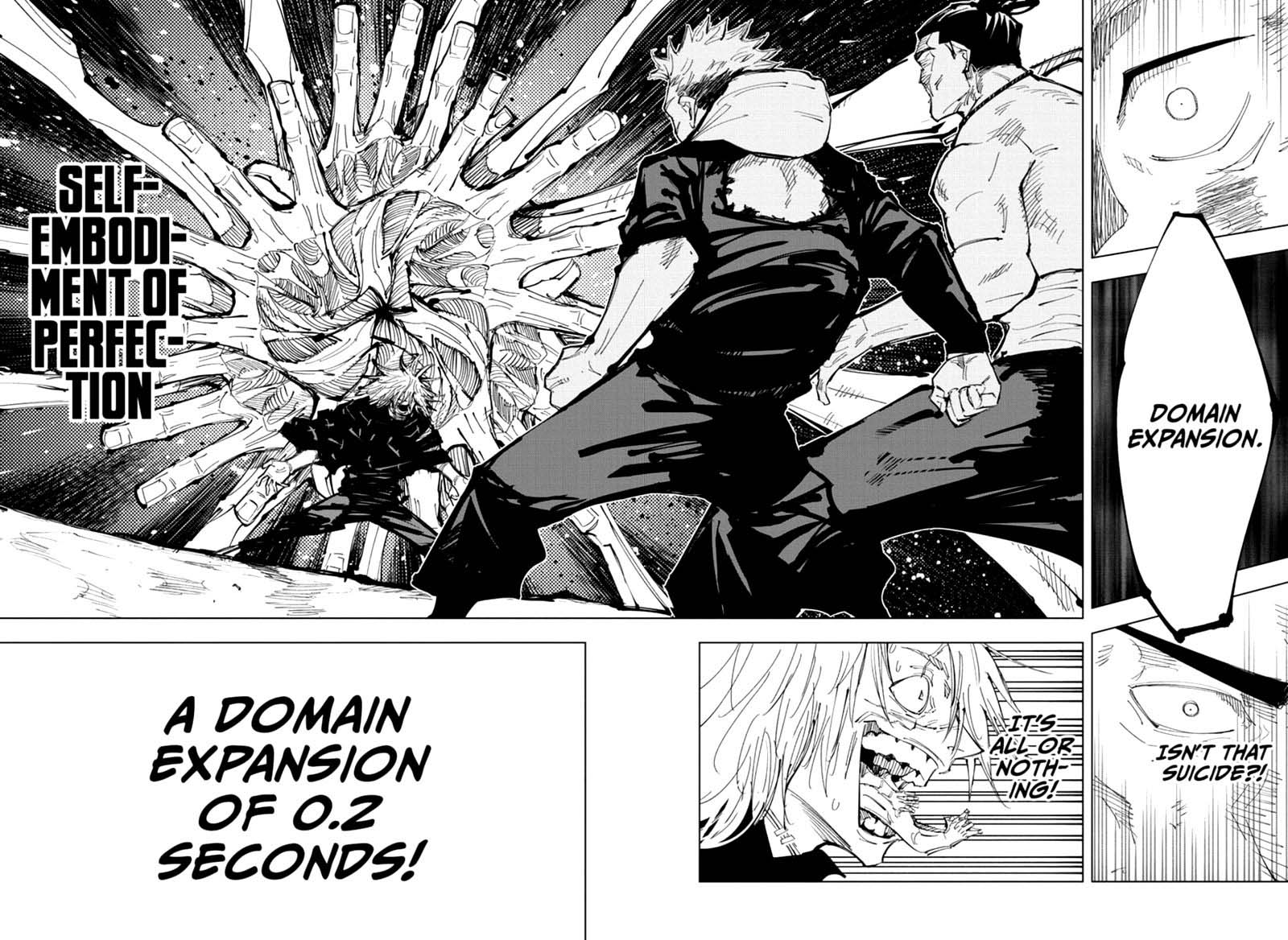 Jujutsu Kaisen, Chapter 129 image 017