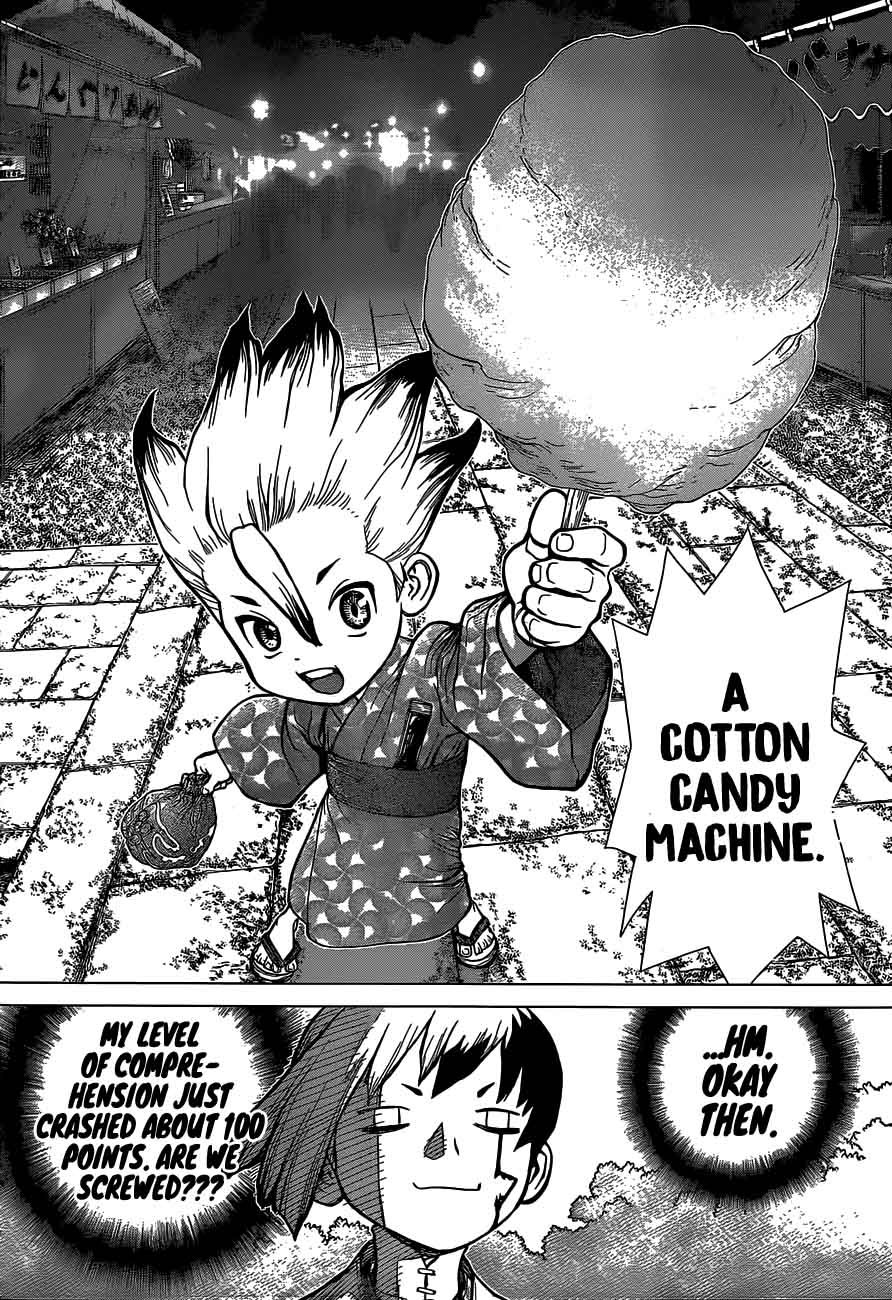 Dr. Stone : Chapter 51 - Sweet in the Stone World image 004