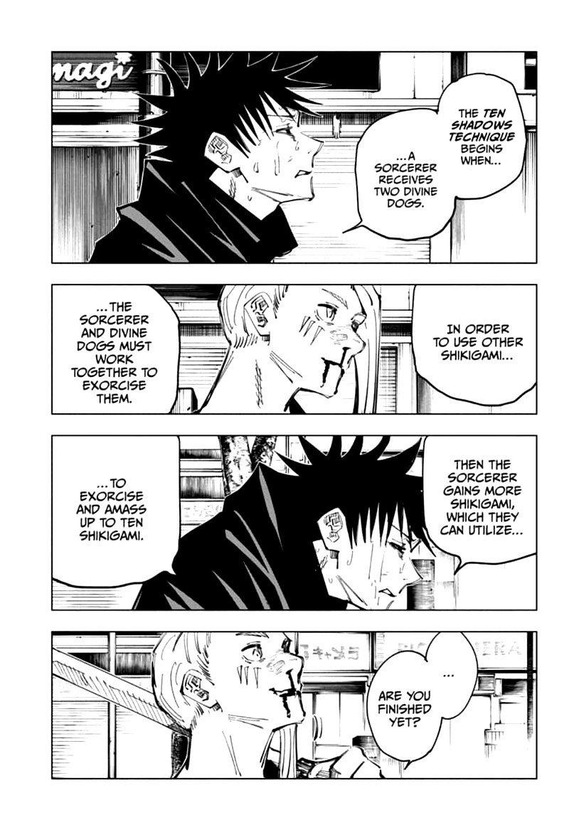 Jujutsu Kaisen, Chapter 117 image 002