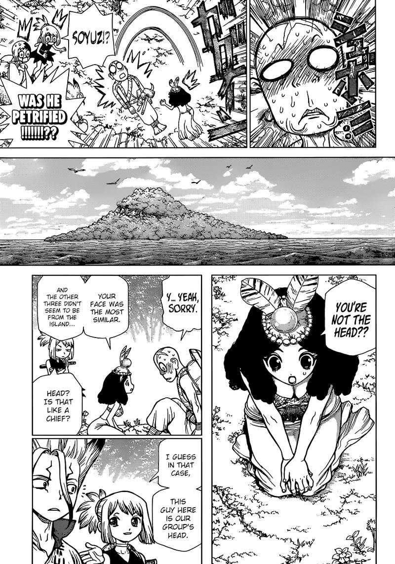 Dr. Stone : Chapter 105 - The Most Beautiful Girl On The Island image 009
