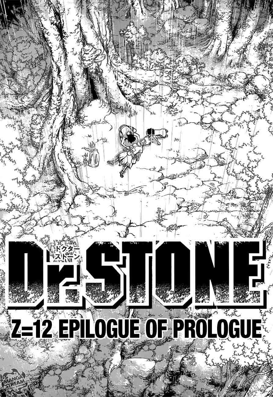 Dr. Stone : Chapter 12 - Epilogue of Prologue image 016