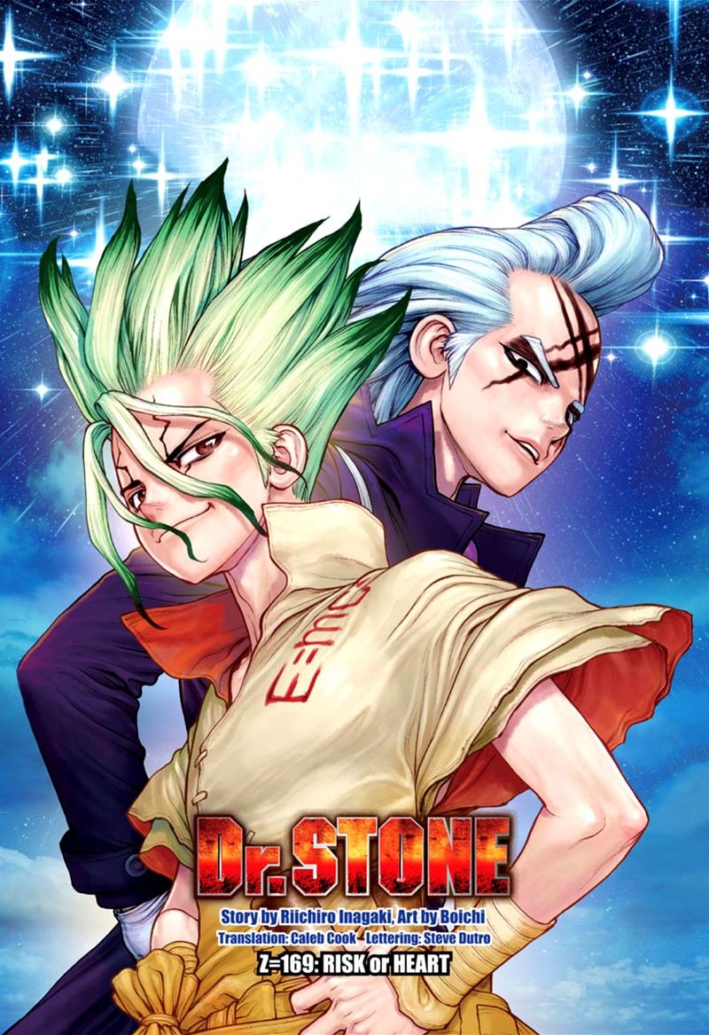 Dr. Stone, Chapter 169 - RISK or HEART image 001