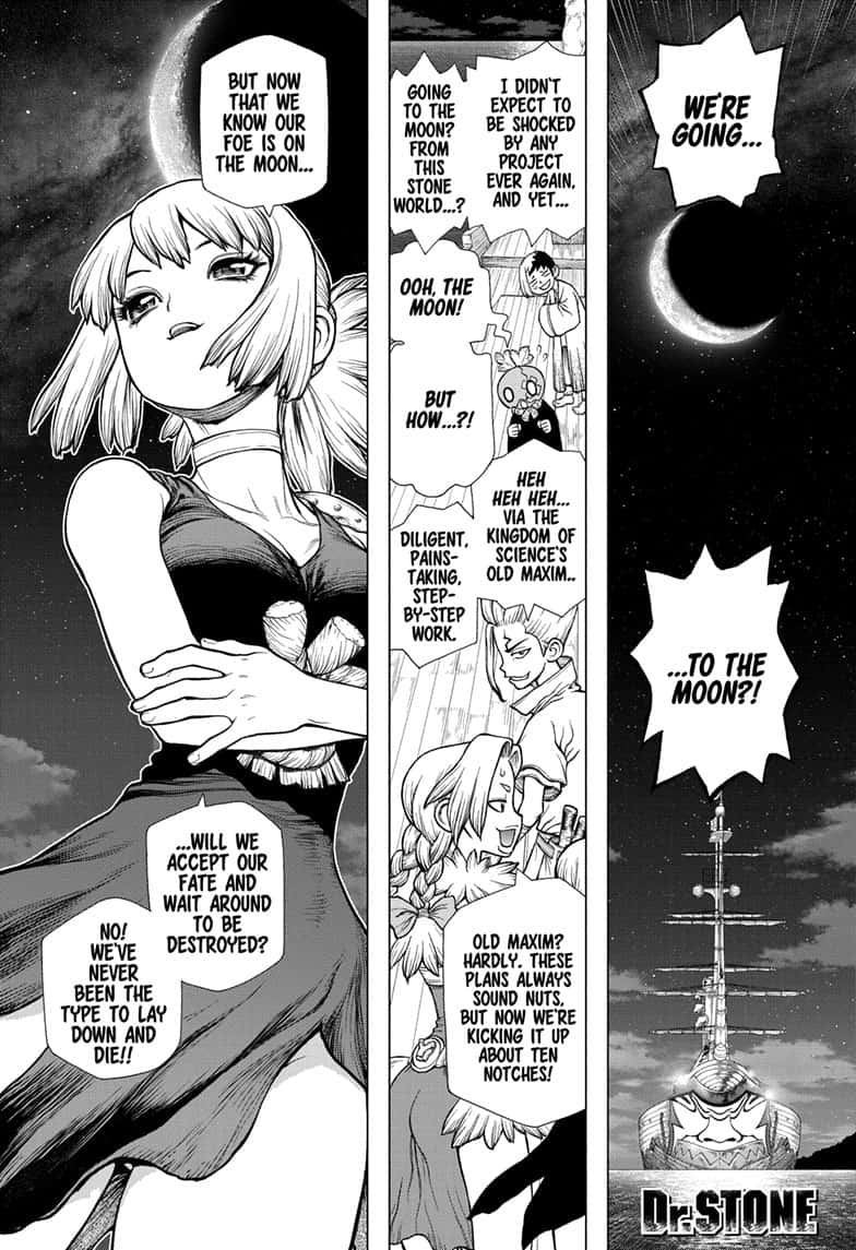 Dr. Stone : Chapter 140 - New World Pilots image 001