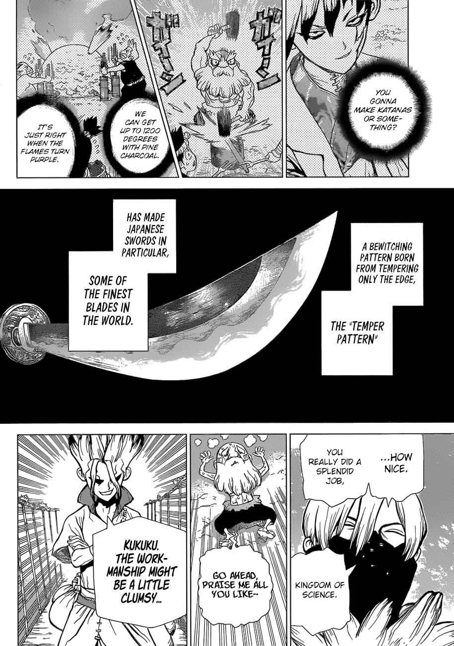 Dr. Stone : Chapter 47 - Science vs Power image 016