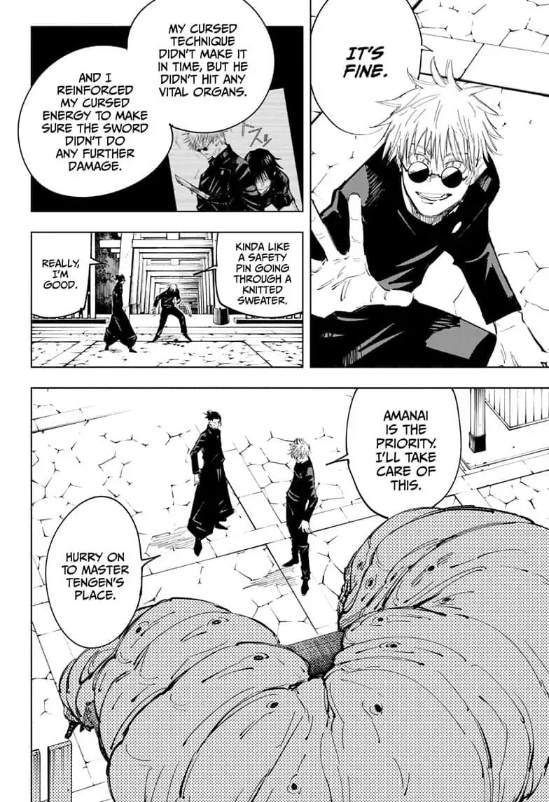 Jujutsu Kaisen, Chapter 71 image 004