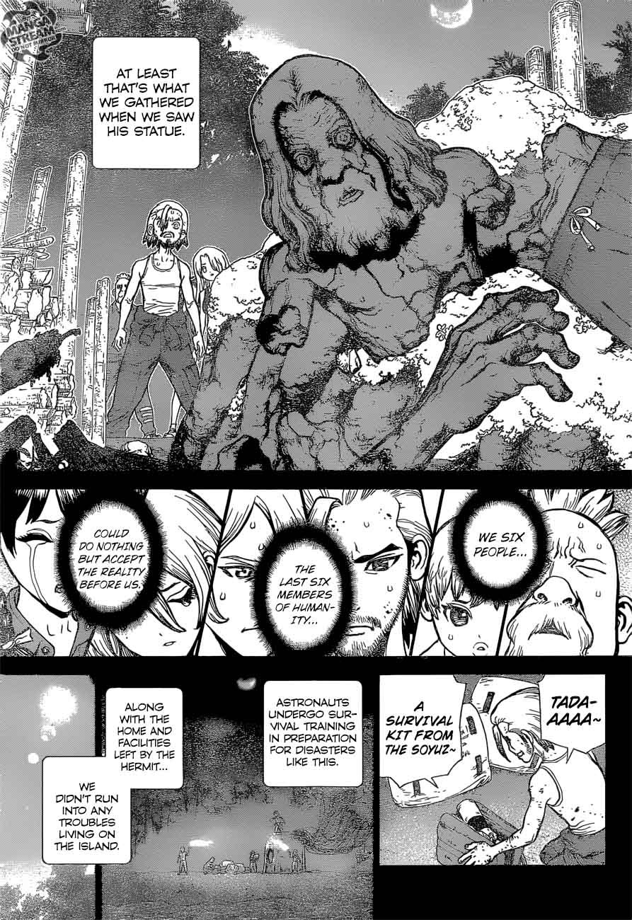 Dr. Stone : Chapter 44 - 100 Nights and 1,000 Skies image 013