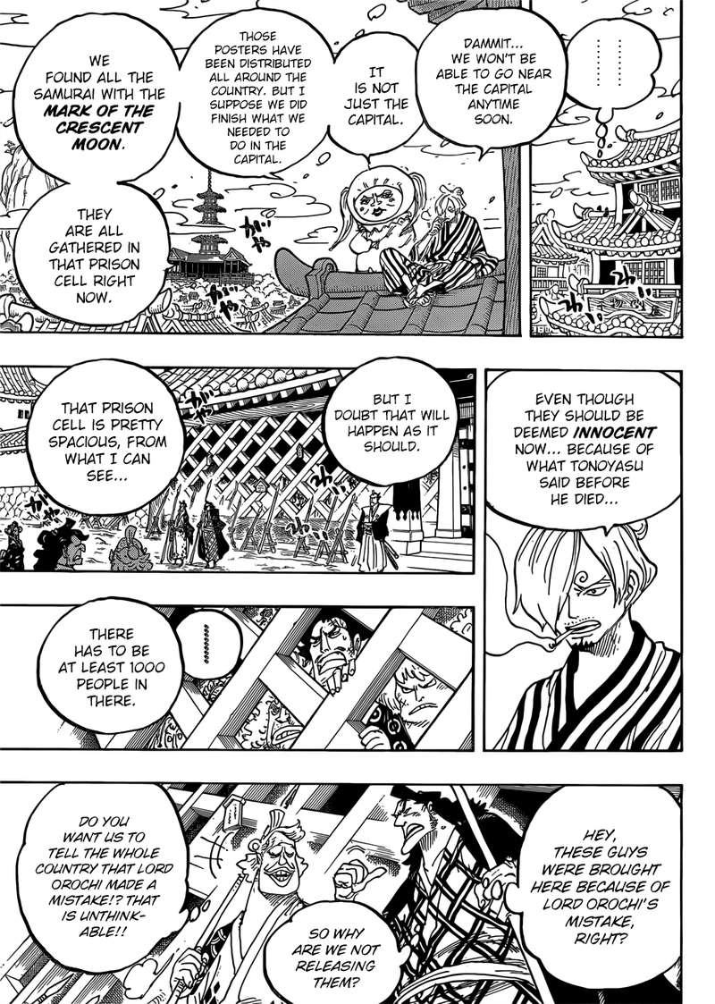 One Piece, Chapter 951 image 005